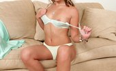 In Focus Girls Rene Open Wide Lovely Blonde Teen Strips And Uses Clit Buzzer On Couch