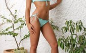 In Focus Girls Zafira Softcore Strip Stunning Brunette Vixen Teasingly Strips And Poses Outdoors