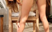 In Focus Girls Zoe Afternoon Excitement Buxom Blonde Honey Strips And Dildos Her Pink Twat On Patio