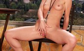 In Focus Girls Gina Poolside Play Bosomy Blonde Vixen Enjoys Deep Pussy Fingering Poolside