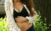 Jeans And Panties 438294 Jeans And Panties All Natural Beauty Takes Off Her Tight Denim Jeans In The Woods