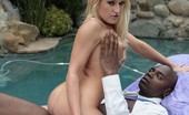 I Like Em White 438356 Paris Gables & Sean Michaels A Flat Chested Blonde Rides A Black Dick Like A Champ Here