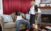 I Like Em White Aline Xxx & John E. Depth Sexy White Chick Getting Plowed By A Big Black Cock!