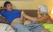 Over 40 Hand Jobs O40 Pics 31 Granny Jennie Lou Jerks Off God Son
