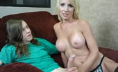 Over 40 Hand Jobs O40 Pics 37 Young Billy Loves His Dads New Girlfriend Sierra Luv. He Has Been Jerking His Cock To Her For A While Now. When Sierra Catches Him Masturbating She Decides To Give Him A Handjob