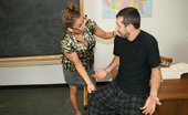 Over 40 Hand Jobs O40 Pics 50 When Billy Oversleeps And Arrives To Class In His Pjs, He Gets Scolded By His Bossy And Busty School Teacher Mrs. Stacie Starr Who Forces Him To Cum Twice