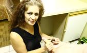 Over 40 Hand Jobs Lisa Browns Handjob Demonstration Milf Lisa Stroker Huge Boner