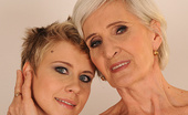 Old Young Lesbian Love Viviana Good Night Kiss From Granny Chicky Spends The Night Over Viviana\'S House. After Having A Nice Dinner Chicky Washes Her Teeth And Head To The Bed. Viviana On The Other Hand Is Not Yet Sleepy And Decides To Be A Gracious Host And Satisfies All The