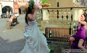 Pornstars At Home Gallery Th 41585 T Two Very Crazy Drunk Horny Bridesmaids Fighting Outdoors