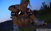 Pornstars At Home Audrey Argento Attractive Blonde Skate Babe Fondling His Pecker For Sperm
