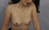 Older Woman Sex Videos Small Tits Matured Brunette Strips Off For The Camera While Posing