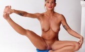 Nude Sport Videos Wide-Legged Naked Gymnastics
