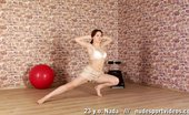 Nude Sport Videos Fitball And Exercise Machine