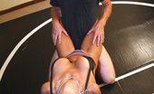 Wrestling Fetish Domme Vixen Takes Stud