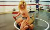 Wrestling Fetish Gal And Her Coach