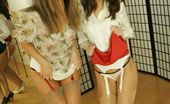 Minnie And Mary 441813 Desparation Pee With Stocking Hotties