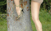 Nylon Passion Pantyhose Outdoor Show Of Horny Blonde Girl Pantyhose Worshipping Teen Blonde Inna Puts On Her Pantyhose And Goes Outdoor To Show Them Really Well