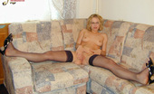 Nylon Passion Teen Blonde In Black Stockings Black Stockings On Small Tits Teen Blonde Lena Look Just Awesome And Very Exciting
