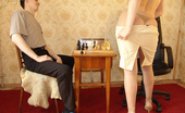 Nylon Passion Fetish Chess Chess Player Shows Her Nylon Pantyhose