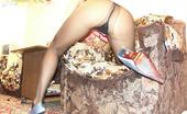 Nylon Passion Pantyhose Heels Pantyhose Teen Girl In High Heel Shoes