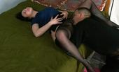 Nylon Passion Both Pantyhosed Guy In Pantyhsoe Fucks Pantyhosed Girl