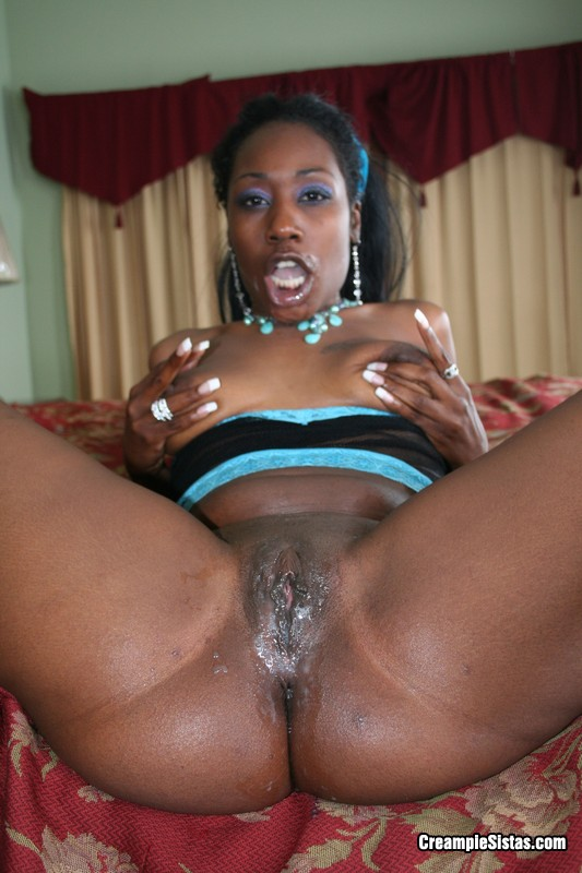 Thick Black Girl Creampie