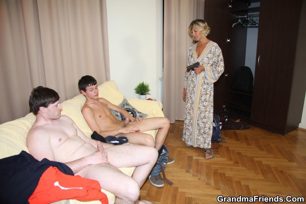 Big Tits Hot Blonde Threesome