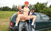Grandma Friends Granny Threesome Far From Town Out In The Woods For A Naughty Granny Threesome With Really Hot Fucking Of Her Box