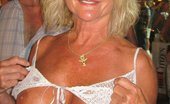 Flashing MILF Hot MILF Flashing In Public Places