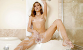 Babes Network.com Riley Reid Bubbly The Petite Riley Decides To Put Some Extra Consideration Into Her Morning Bath. Soap, Suds, And Sensuality Are Abound In This Scene.