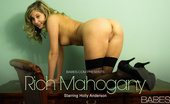 Babes Network.com Holly Anderson Rich Mahogany Watch The Beautiful Holly Anderson Pleasure Herself On A Lonely Afternoon.
