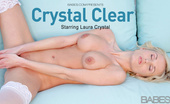 Babes Network.com 446228 Laura Crystal Crystal Clear Blonde Haired Blue Eyed, Silky Thighs And Curvy Assed, Laura Crystal Stands With That Slightly Toes Pointing In, An Askance Posture So Recognizably That Of An Inexperienced Young Women. Exploring The Wonders Of Her Lace Clad Bo