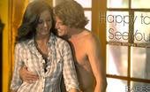 Babes Network.com Whitney Westgate Happy To See You Whitney Has Just Arrived And Man Is Tyler Happy To See Her! Smiling And Laughing They Make Their Way To The House, Where Excited Kisses Make Way For More Heated Displays Of Affection. Fingers Fumbling On Buttons And Lips