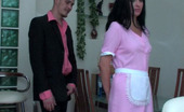 Anal Saga Laura & Mike Upskirt Maid Swallowing A Sturdy Cock And Getting Anally Done By Her Master
