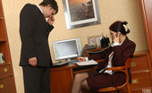 Anal Saga Judith & Adam Outrageously Hot Secretary Getting Her Yummy Banghole Ploughed Close-Up