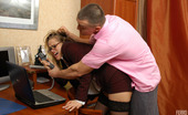 Anal Saga Susanna & Nicholas Voluptuous Secretary Making A Horny Guy Ready To Drill Her Eager Banghole