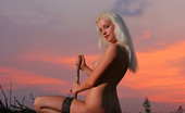 David Nudes Tatyana Tatyana Woodland Sunset As The Sun Sets On The Plains, The Night Awakens With Colors. ...