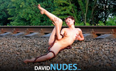 David Nudes Natasha Natasha Wrapped In Beads A Naturist Figure Study With Little Natasha....