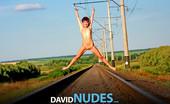 David Nudes 448538 Natasha Natasha Railroading Time To Go On An Adventure, She Says....