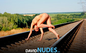 David Nudes 448538 Natasha Natasha Railroading Time To Go On An Adventure, She Says....