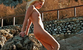 David Nudes Tatyana Tatyana Sicily Castle Tatyana Expresses Her Beauty By An Ancient Castle In Palermo, Sicily....