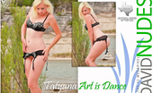 David Nudes Tatyana Tatyana Art Is Dance The Contrast Of Lingerie And Nature Creates A Sexy Fusion....