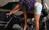 David Nudes Tatyana Tatyana Biker Chick Who Makes The Rules? No Matter, I Break Them....