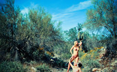 David Nudes Tatyana Tatyana And Aimee Vivid Production Beauty Spashes Off The Page In A Mess Of Color And Skin....