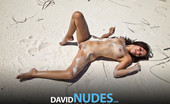 David Nudes Honey Honey Sandy Girl So Hot And Sweaty...Can You Smell It?...