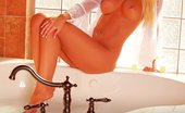 David Nudes Jayden Nude Bathing Hot Blonde Babe Enjoys Window Sunlight As She Gets Ready For A Bath...