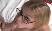 Cum Covered Glasses Cute Teen Licks A Cock Like Its A Lollipop