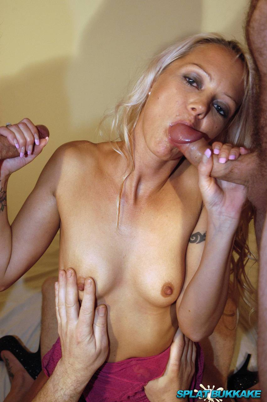Blonde Anal Creampie Gangbang