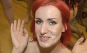 Splat Bukkake 449417 British Redhead Elise'S Debut Bukkake