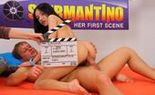 Spermantino Sasha Spring Fresh Teen Makes A Porno With A Stud